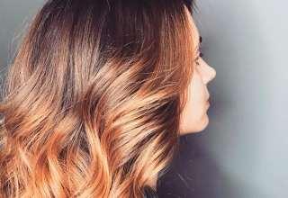 مدل های رنگ موی کاراملی بدون دکلره