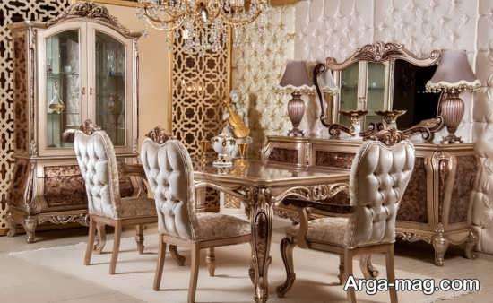 مدل میز سلطنتی کلاسیک