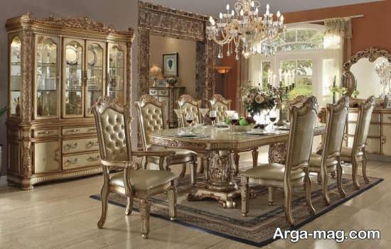 ست ناهارخوری سلطنتی و کلاسیک