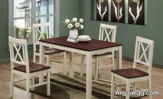 مدل میز ناهار خوری کلاسیک زیبا