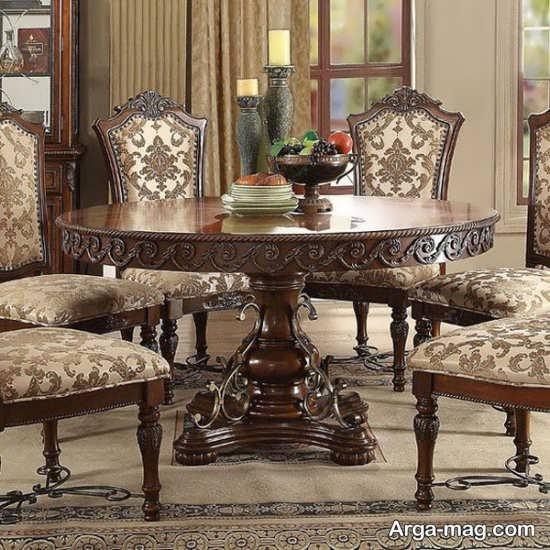 مدلهای جدید میز ناهار خوری کلاسیک