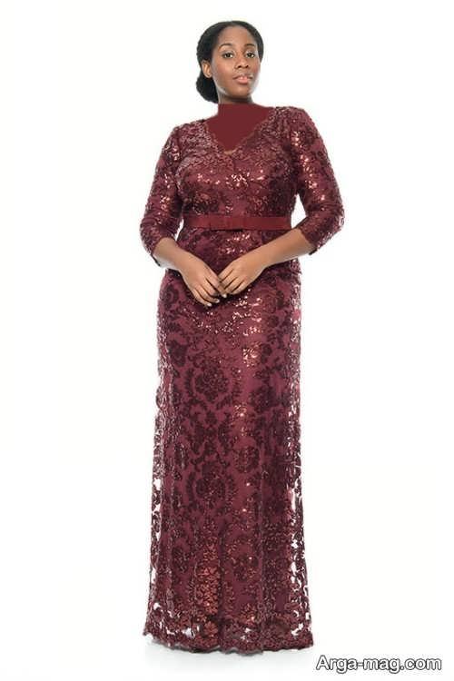 مدل لباس مجلسی زیبا و شیک برای خانم های میانسال