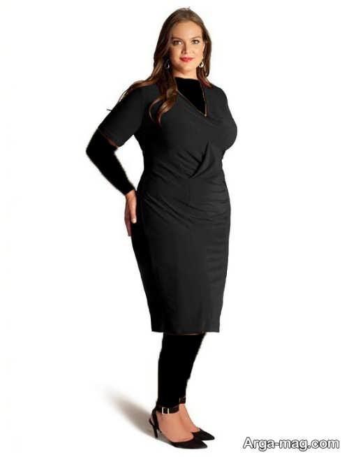 مدل لباس مجلسی مشکی زنانه