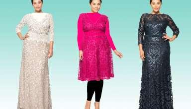 مدل لباس مجلسی برای خانم های میانسال