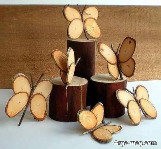 ساخت وسایل تزیینی شیک با تنه درخت