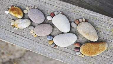 خلاقیت با سنگ برای ساخت کاردستی و وسایل تزیینی زیبا