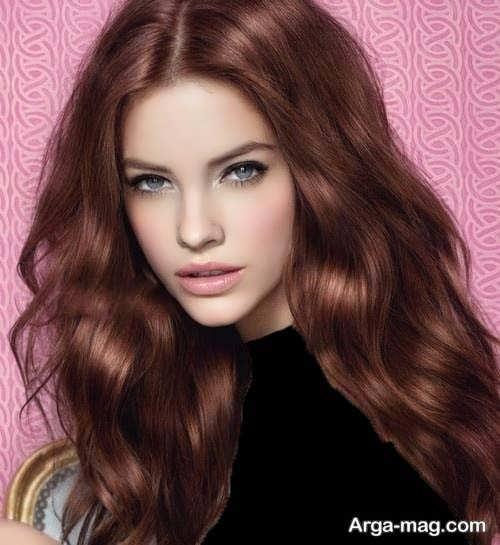 رنگ موی مسی دخترانه جدید