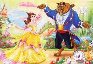 داستان دیو و دلبر برای کودکان