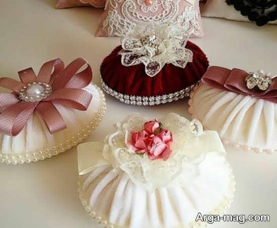 تزیینات صابون عروس با روبان