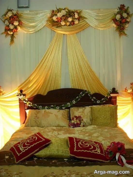 دیزاین شیک اتاق عروس با تور