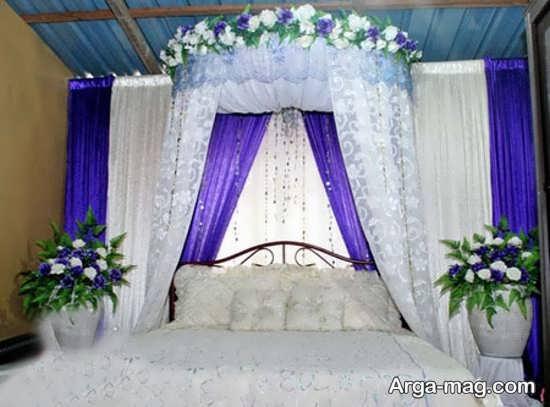 تزیینات جدید اتاق عروس با تور