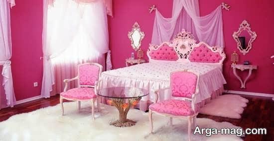 دیزاین اتاق عروس با تور