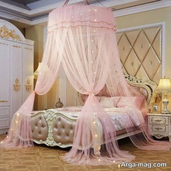 انواع تزیینات اتاق عروس با تور