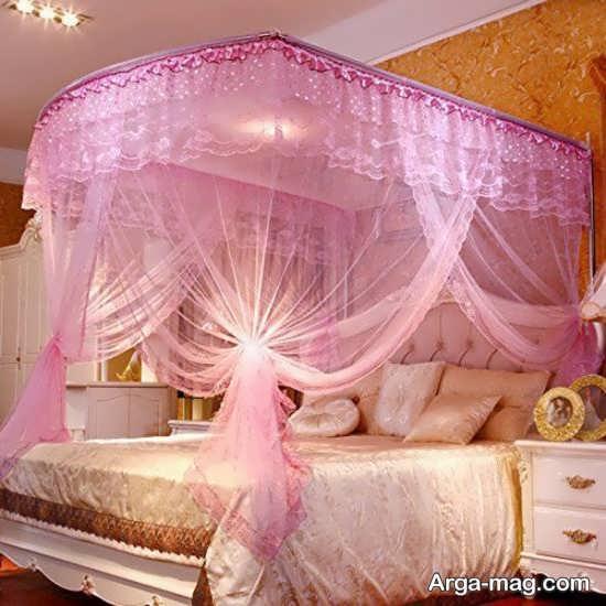 زیباترین تزیینات اتاق عروس با تور
