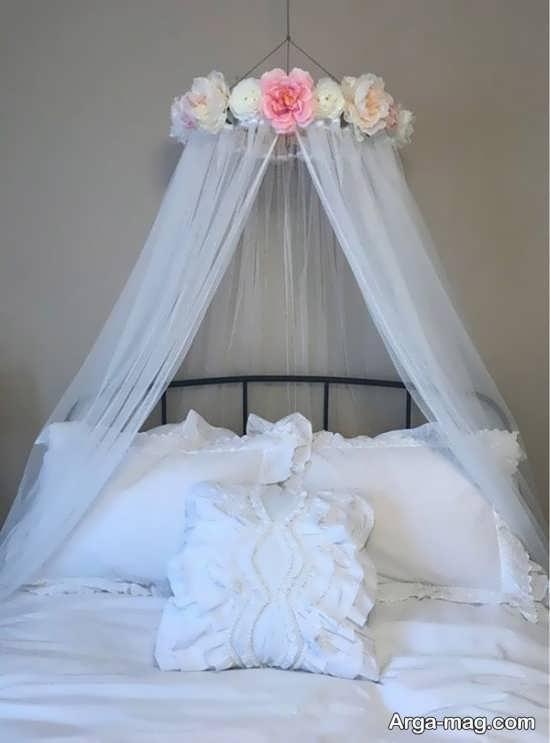 جدیدترین تزیینات اتاق عروس با تور
