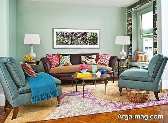 طراحی دکور برای اتاق نشیمن