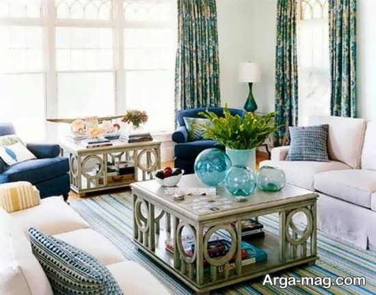 اتاق پذیرایی و تزیین مدرن