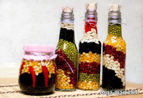 تزیین شیشه حبوبات عروس با چند ایده بکر و خلاقانه