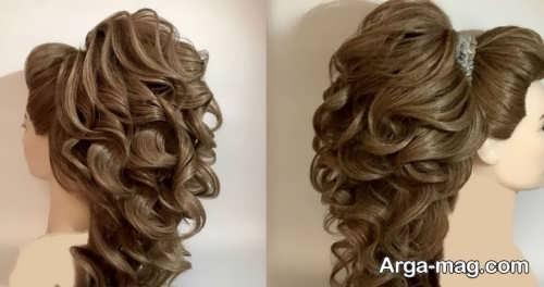 مدل موی زیبا و شیک نیمه باز