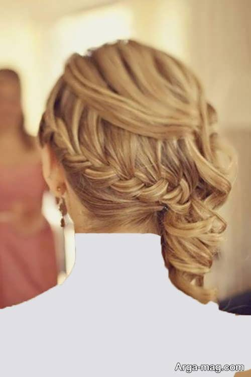 مدل موی دخترانه نیمه باز