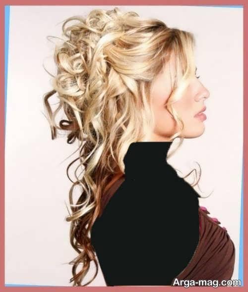 مدل موی زنانه مجلسی