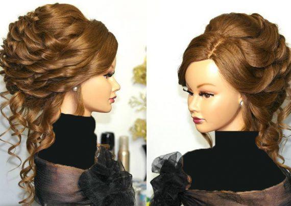 مدل موی نیمه باز مجلسی زنانه و دخترانه