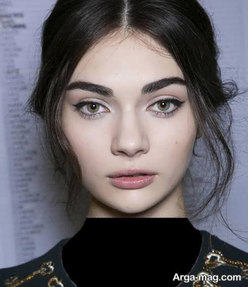مدل ابروی دخترانه زیبا و خاص
