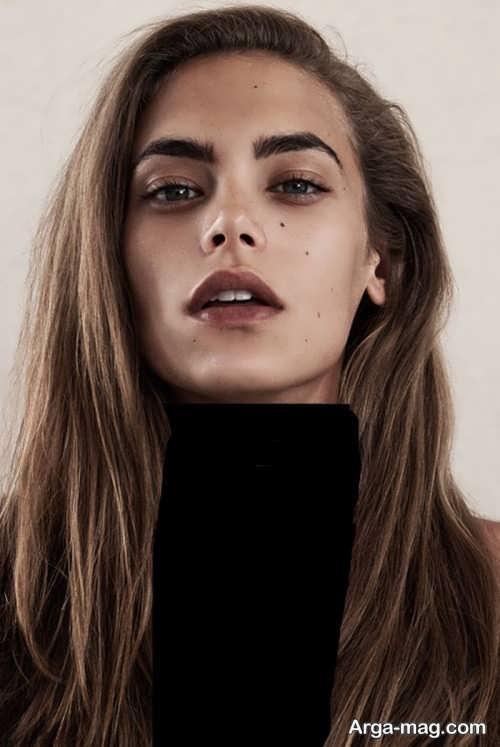 مدل ابروی شیک و جدید دخترانه