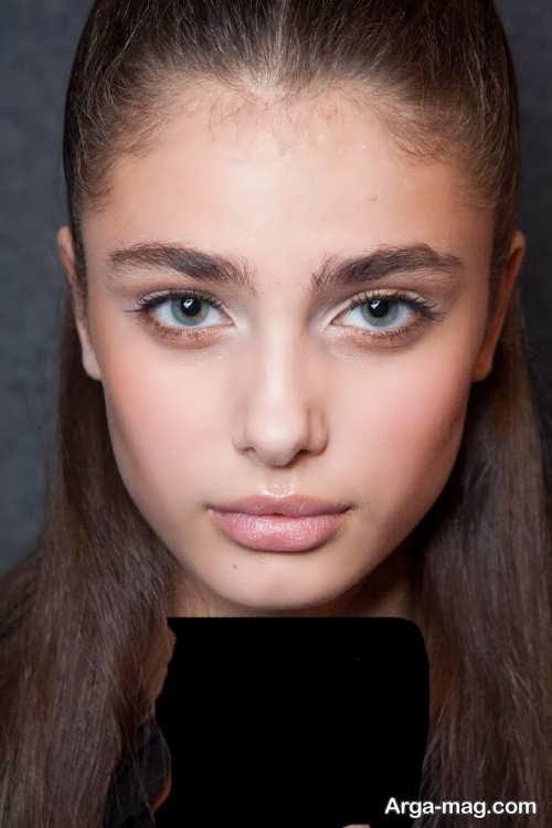 مدل ابروی زیبا و جدید دخترانه