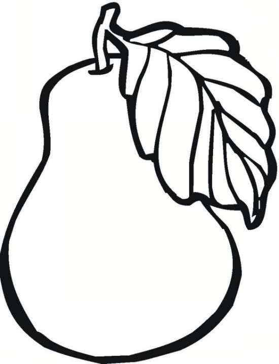 نقاشی گلابی زیبا