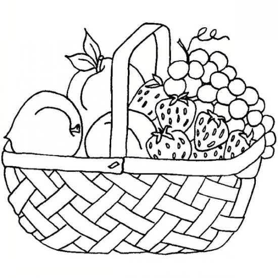 نقاشی میوه های مختلف و خوشمزه