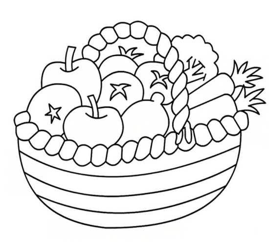 نقاشی میوه های مختلف