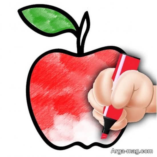 نقاشی و رنگ آمیزی میوه