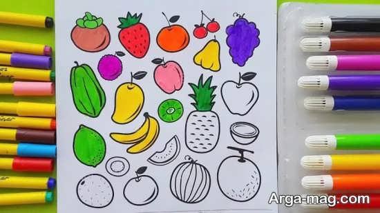 طراحی زیبای میوه برای کودکان