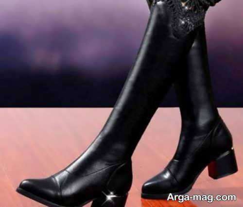 چکمه ساق بلند برای دختر خانم ها