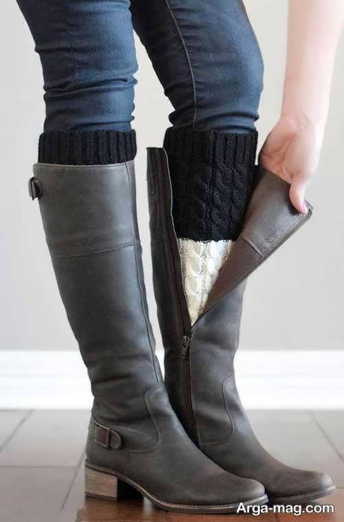 چکمه ساق بلند دخترانه