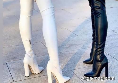 مدل چکمه دخترانه ساق بلند