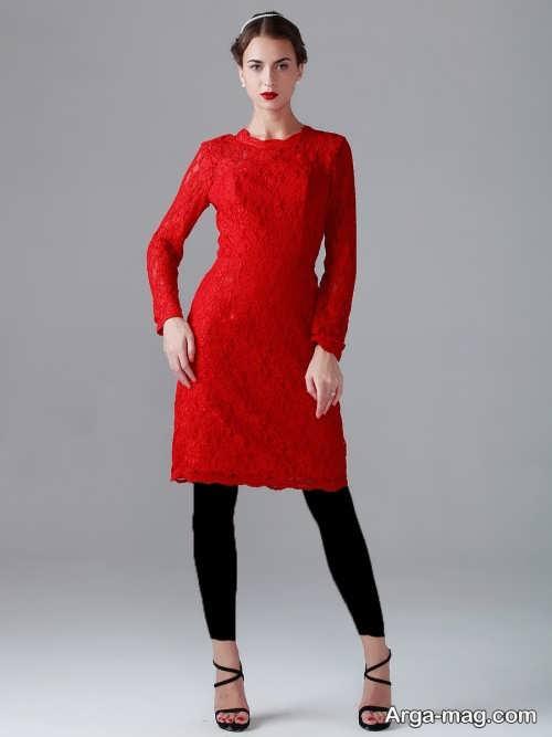 مدل لباس مجلسی ساده گیپور