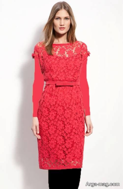 مدل لباس مجلسی زیبا و شیک گیپور