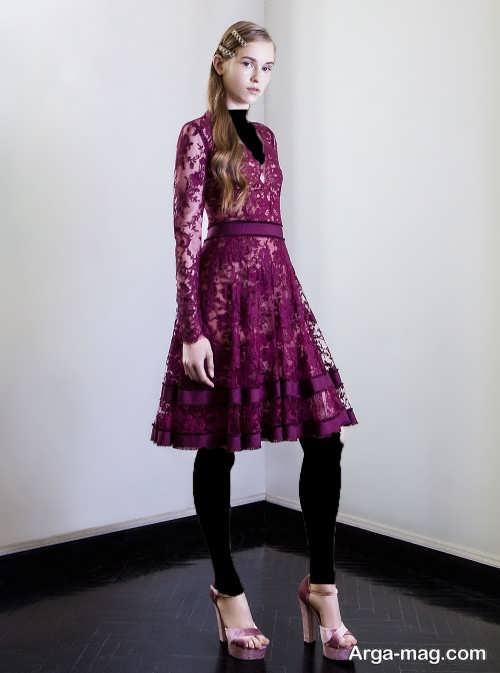 مدل لباس مجلی کوتاه دخترانه
