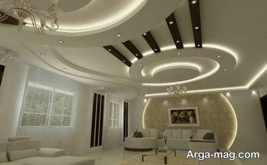 مدل نور پردازی سقف زیبا