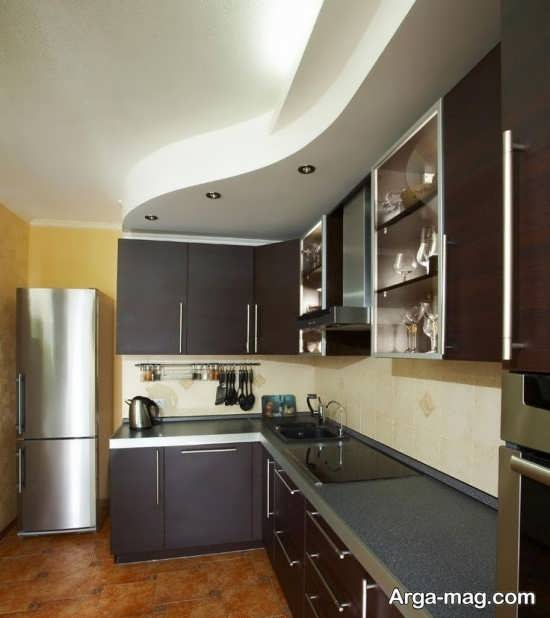 مدل نور مخفی فوق العاده آشپزخانه