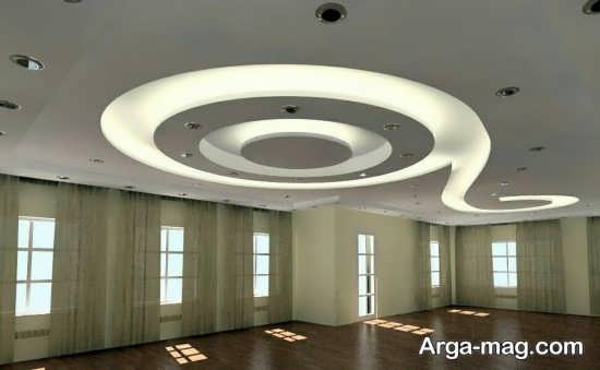 نور پردازی جالب سقف