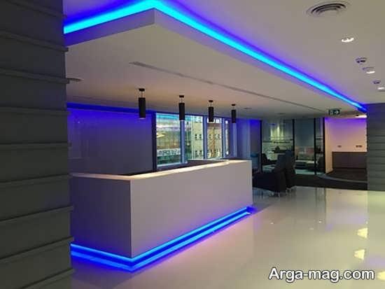 استفاده از نور پردازی های مخفی در سقف