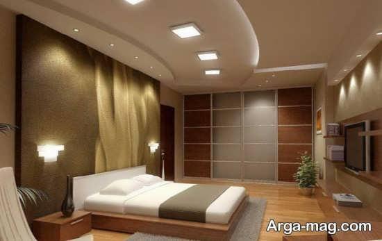 مدل نور پردازی مخفی در اتاق خواب