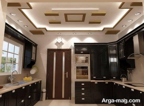 مدلهای جدید نور مخفی سقف آشپزخانه