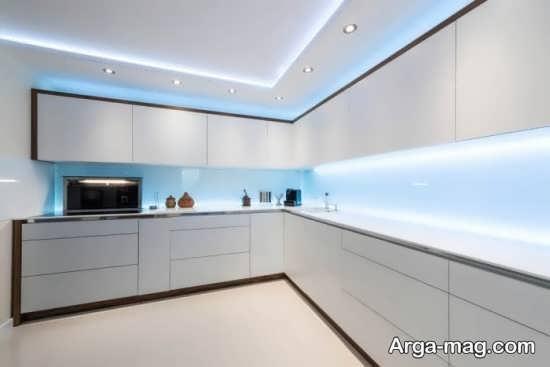 مدلهای ایده آل نور مخفی سقف آشپزخانه