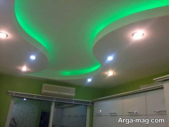 مدل نور مخفی سقف