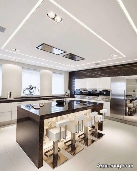 مدلهای متنوع نور مخفی سقف آشپزخانه