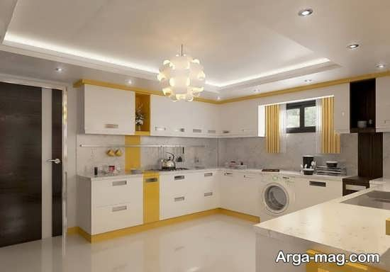 مدلهای به روز نور مخفی سقف آشپزخانه